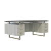 Mirella™ Free Standing Desk, Choose Your Storage Options