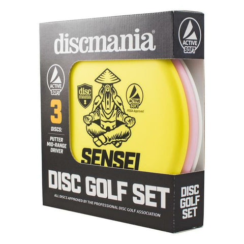 Discmania Active Line Soft Starter Set