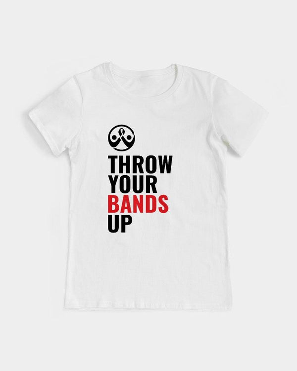 Throw Your Bands Up™ Womens Tee