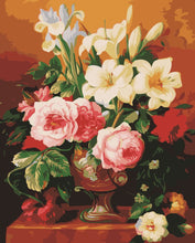 Load image into Gallery viewer, DIY Painting By Numbers - Lily and Peony