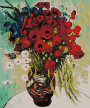 Load image into Gallery viewer, Painting by Numbers - Poppy Flowers
