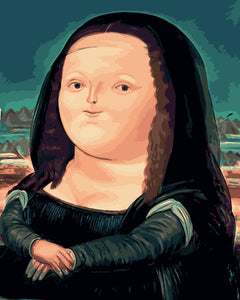 DIY Painting By Numbers - Lovely Mona Lisa
