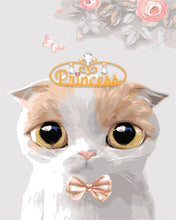 Load image into Gallery viewer, DIY Painting By Numbers - Cat Princess