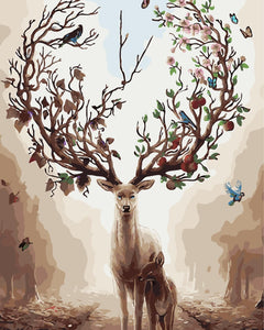 DIY Painting By Numbers - Godness Deer