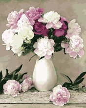 Load image into Gallery viewer, DIY Painting By Numbers - Flowers and Vase