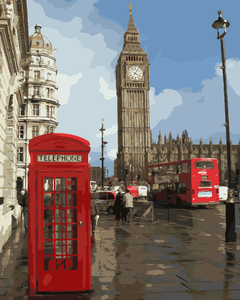 DIY Painting By Numbers - Impressions of London