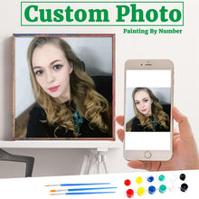 Load image into Gallery viewer, Personality Photo Customized DIY  Painting By Numbers