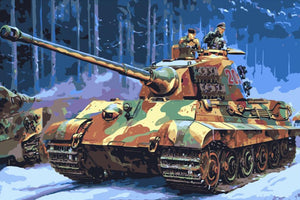 Painting by Numbers - Tank & War