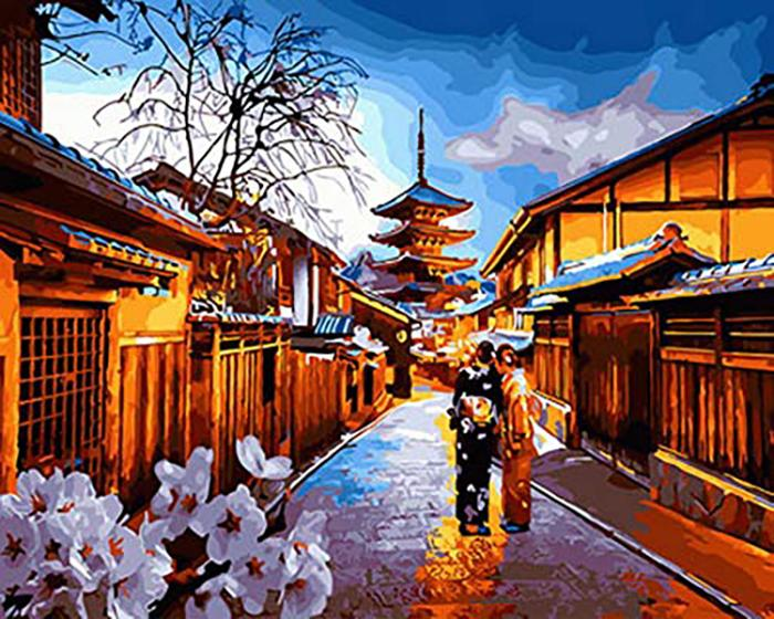 Painting by Numbers - Japanese Street