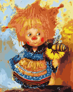 Paint by Numbers - Scarecrow Babies D