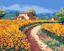Load image into Gallery viewer, Paint by Numbers - Country Road