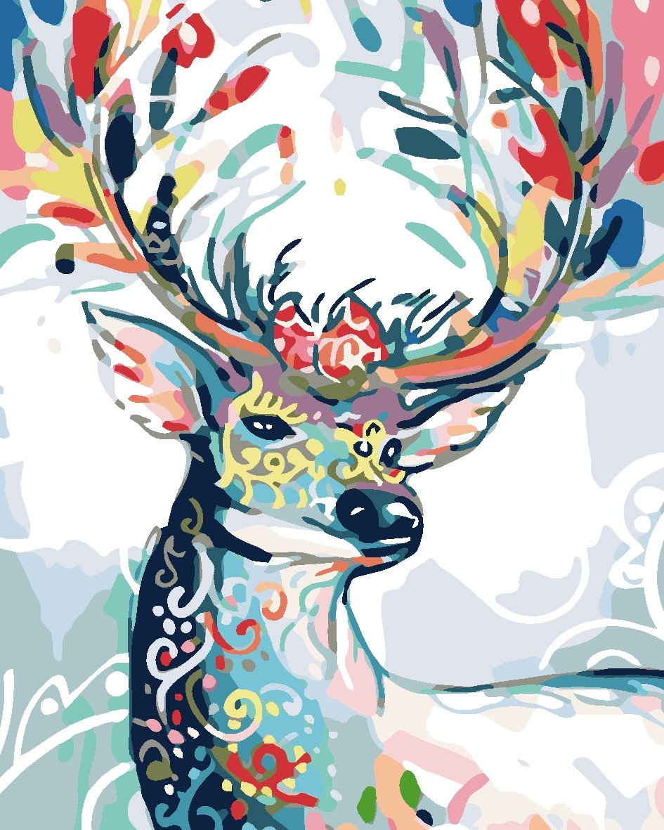 Paint by Numbers - Beautiful Deer