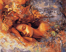 Load image into Gallery viewer, Paint by Numbers Set- Sleeping Beauty