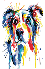 Load image into Gallery viewer, Paint by Numbers Set-  Portrait Dog