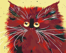 Load image into Gallery viewer, Paint by Numbers - Red Cat