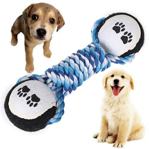 Dumbbell Chew Toy for Dogs - PupSoKool