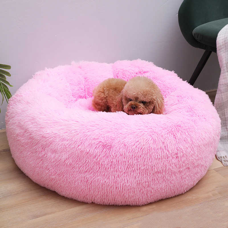 ComfySweet! Warm Fleece Round Calming Pet Bed - PupSoKool