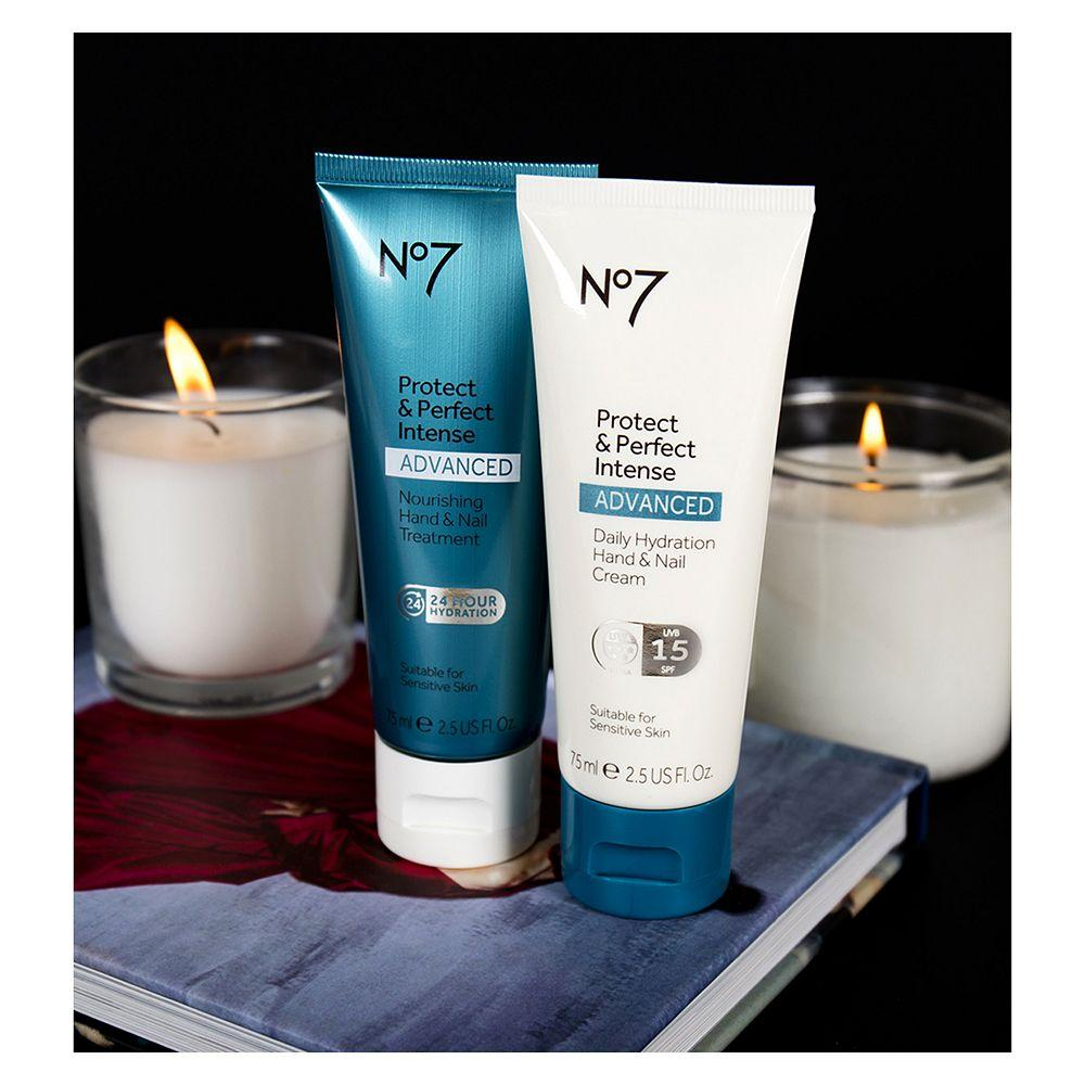No7 Protect & Perfect Intense ADVANCED Nourishing Hand & Nail Treatment 75ml