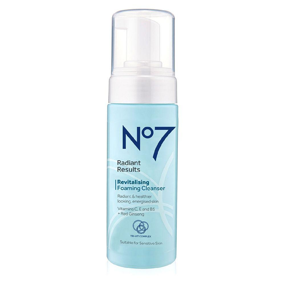 No7 Radiant Results Revitalising Foaming Cleanser 150ml