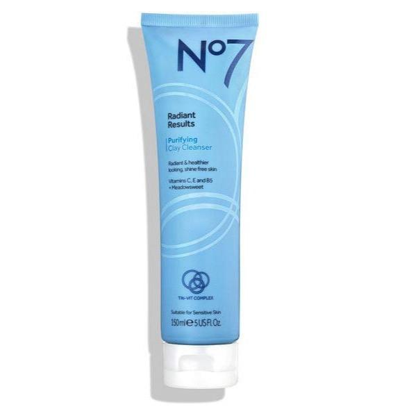 No7 Radiant Results Purifying Clay Cleanser 150ml