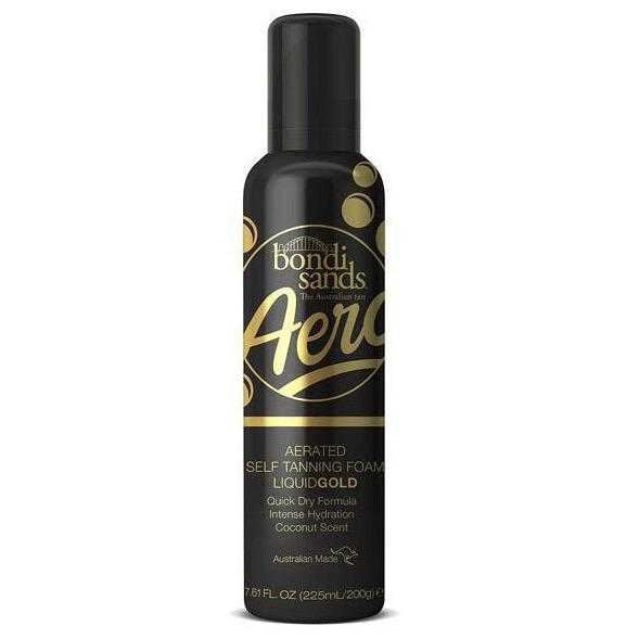 Bondi Sands Aero Aerated Self-Tanning Foam Liquid Gold 225ml