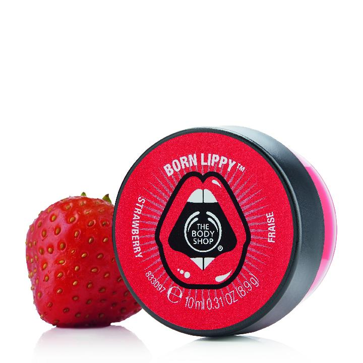 Born Lippy™ Pot Lip Balm - Strawberry