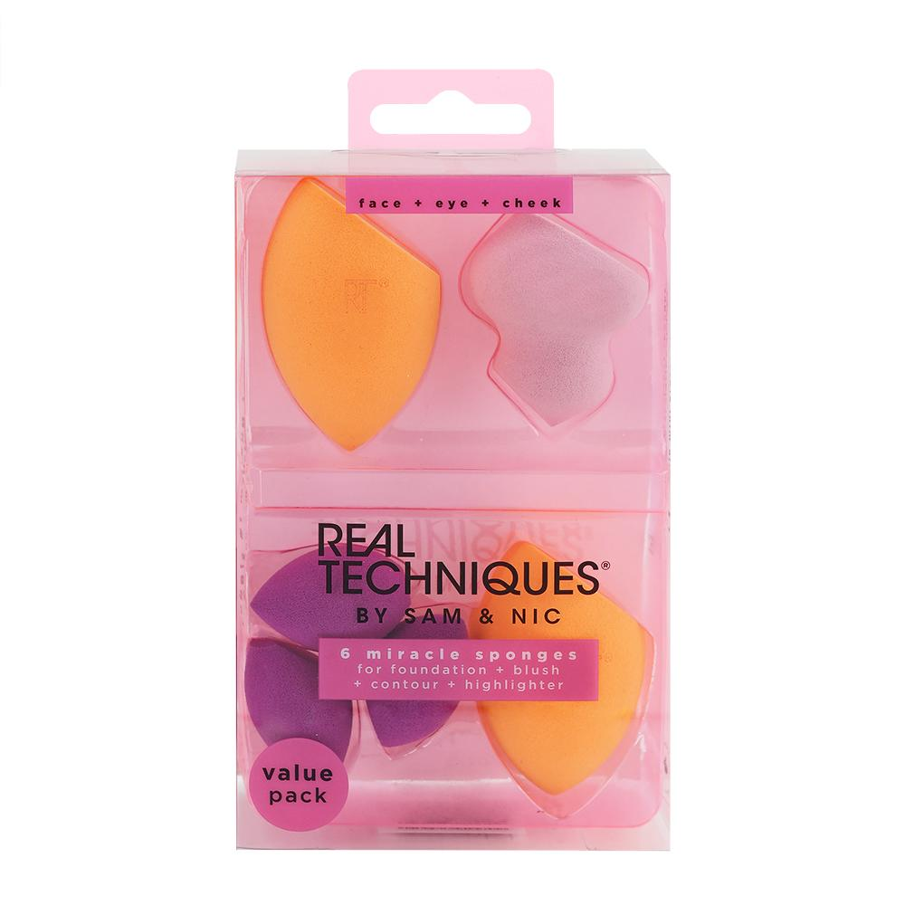 6 Miracle Complexion Sponges