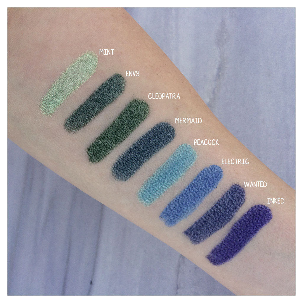 Electric Vegan Mineral Eyeshadow Swatch