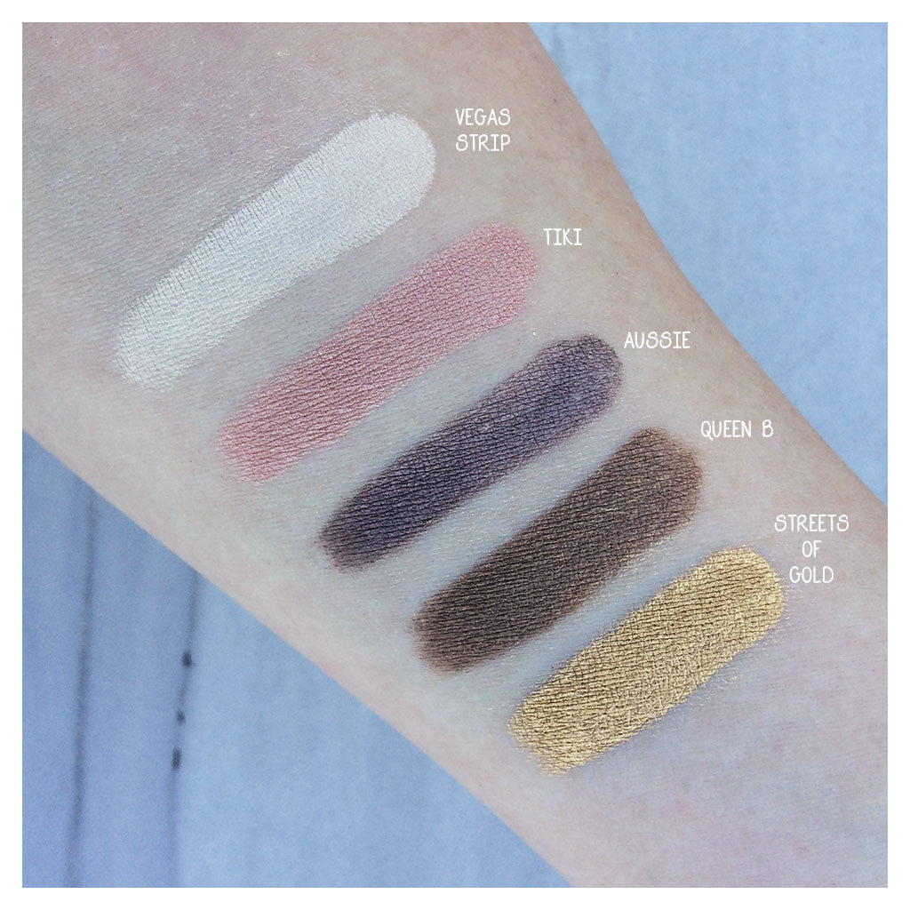 Tiki Mineral Eyeshadow Swatch
