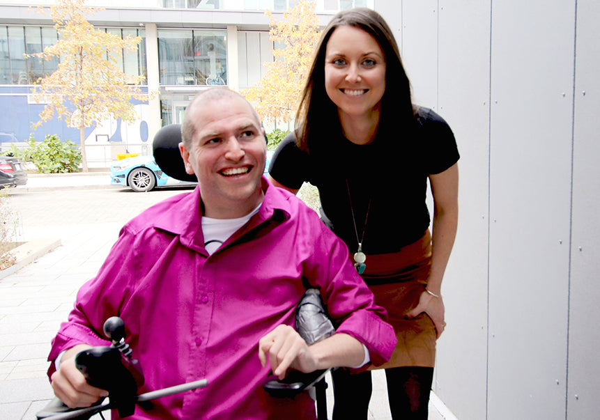 Andrew Gurza, Chief Disability Officer and Heather Morrisson, CEO of Handi