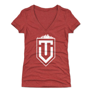 Vincent Trocheck Women's V-Neck T-Shirt | 500 LEVEL