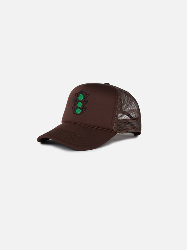 "Greenlights ""Chocolate 3/4 Trucker"""