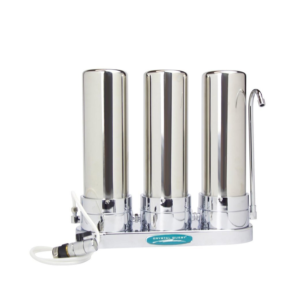 Crystal Quest® Alkaline Countertop Water Filter System