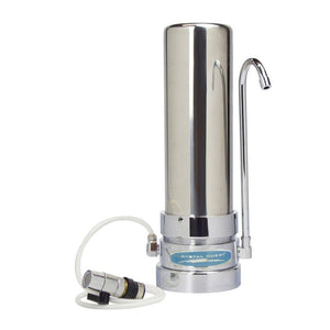 Lead Countertop Water Filter System-Stainless Steel-single-CQE-CT-00168