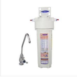 WS Fluoride Removal + SMART Single Under Sink Water Filter System CQE-US-00315