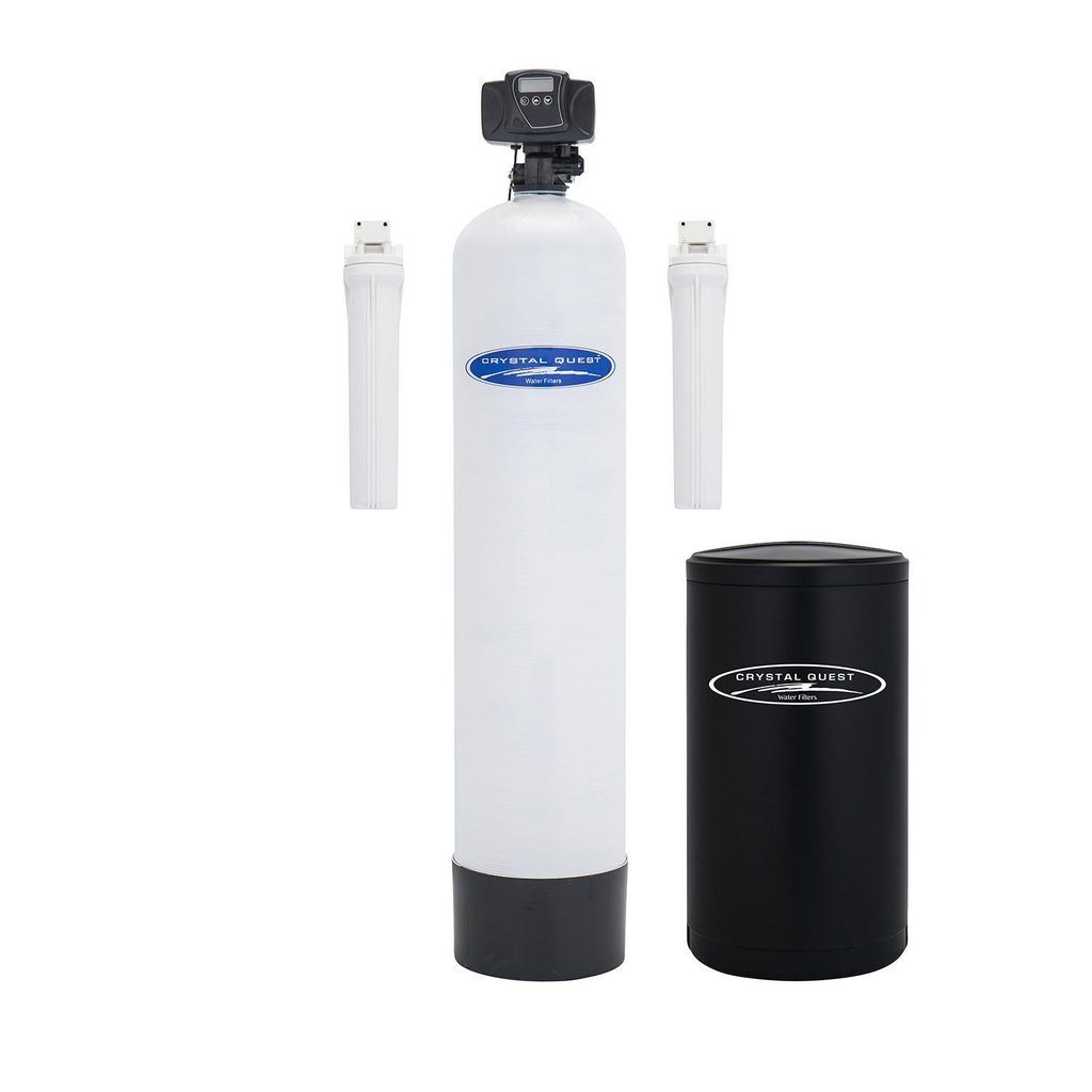 WS Whole House Water Softener With Pre/Post Filtration-Fiberglass ● 1.5 CQE-WH-01123