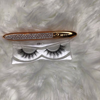 Unique FAces Lashes #49 w/ 2-n-1 Adhesive /Eyeliner Pen