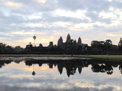 Angkor Wat, Cambodia, at sunrise