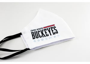 OHIO STATE BUCKEYES WHITE OUT MASK