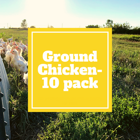 Chicken - Ground Chicken - 10 Pack - Gunthorp Farms