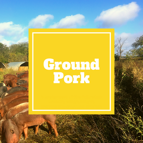 Pork - Ground Pork - Gunthorp Farms