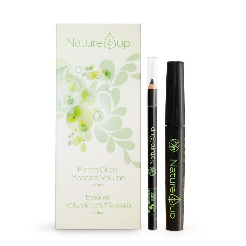 Duo Mascara et Crayon Noir BIO Nature Up
