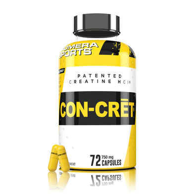 CON-CRET<sup>®</sup> PATENTED CREATINE HCl<sup>®</sup> CAPSULES
