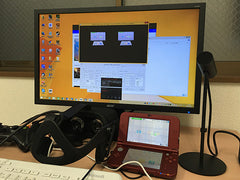 Video Capture Kits for New3DSXL(New 3DSXL not included) Oculus Rift CV1 Supported