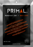 Primal Sweet & Spicy Beef Jerky - 3.5oz
