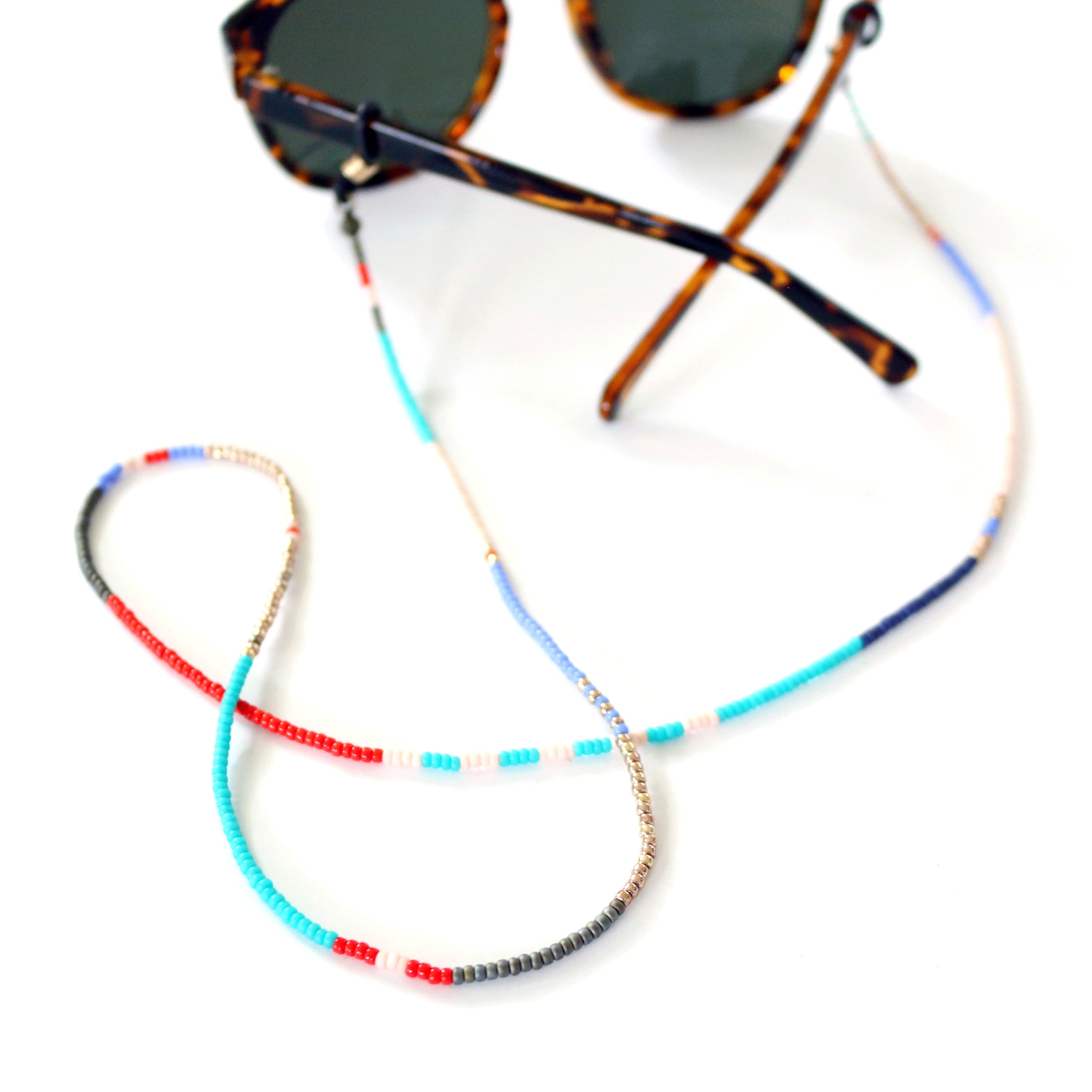 Beaded Eyewear Chain (Mix No. 4)
