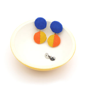 Short Dangle Drop Studs (Color Mix. 3)