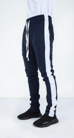 Ethan Track Pants in Navy