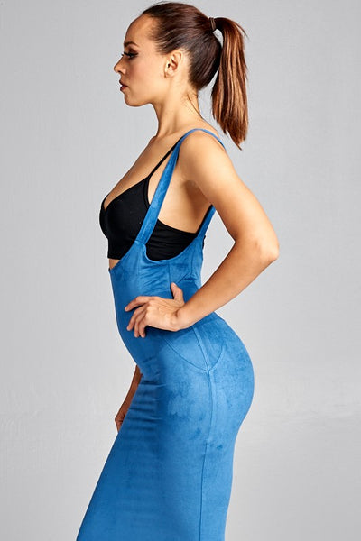 Genie Overall  Denim Skirt