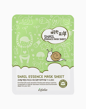 Esfolio Snail Essence Face Mask